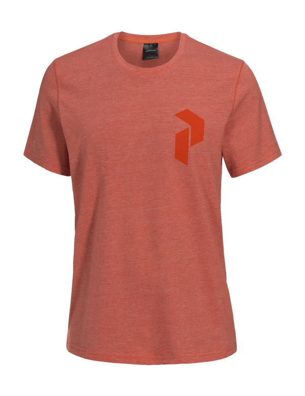 PEAKPERFORMANCE TRACK TEE orange flow