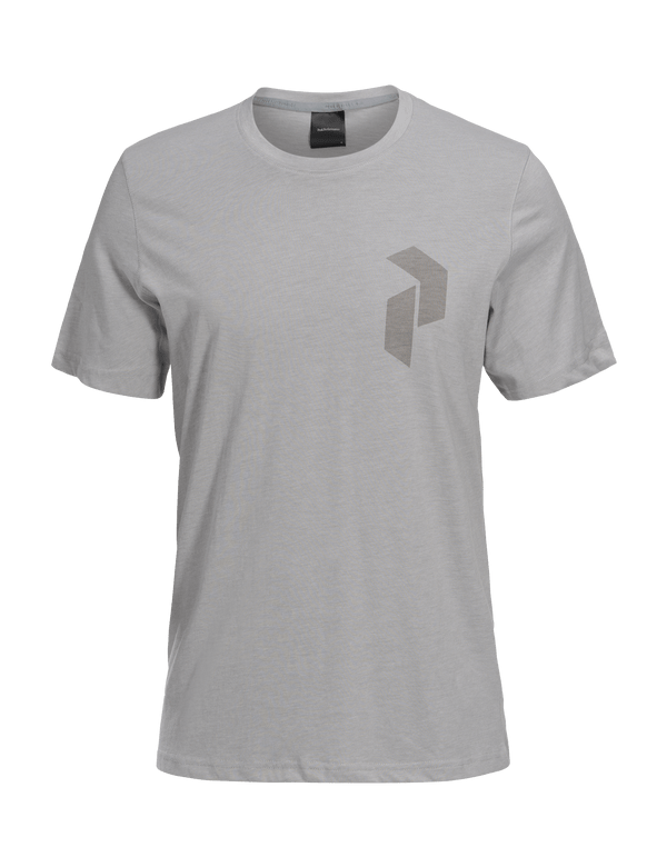 PEAKPERFORMANCE MEN'S TRACK TEE med grey melange