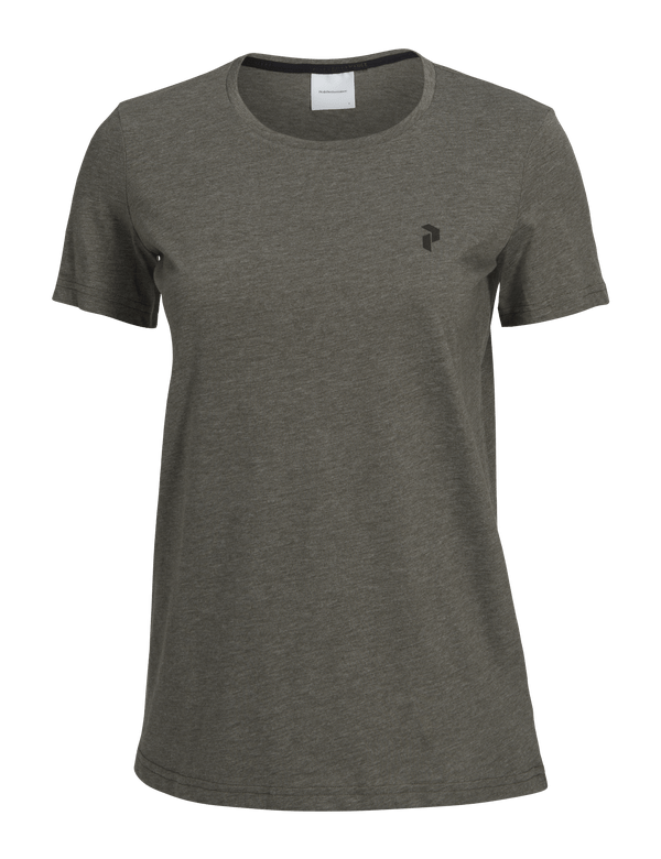 PEAKPERFORMANCE TRACK TEE Terrain green