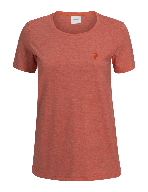 PEAKPERFORMANCE WOMEN'S TRACK TEE orange flow