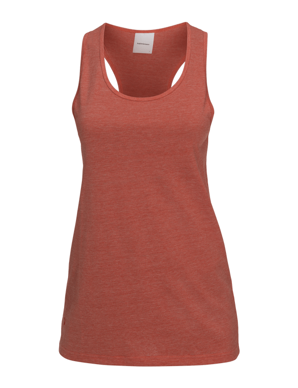 PEAKPERFORMANCE WOMEN'S TRACK TANK orange flow