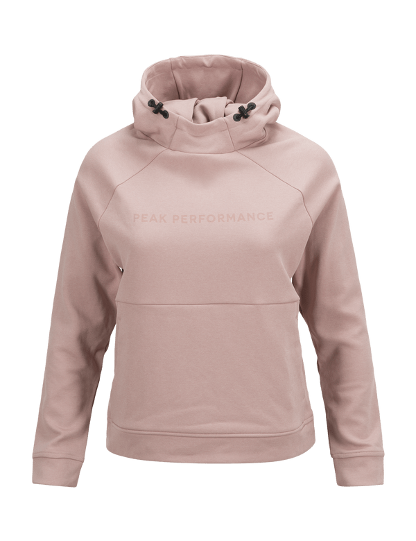 PEAKPERFORMANCE WOMEN'S PULSE HOODED MID-LAYER DUSTY ROSES