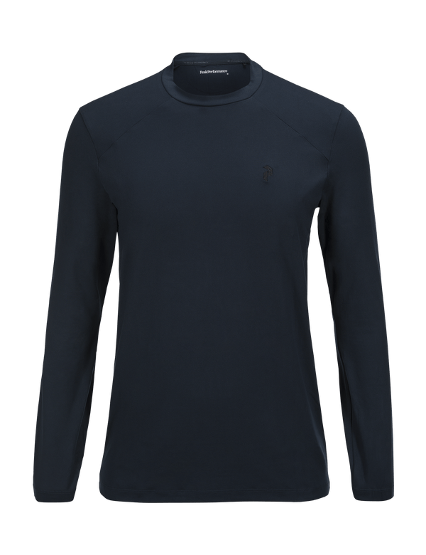 PEAKPERFORMANCE MEN'S GRAPH CREW BASE LAYER SALUTE BLUE