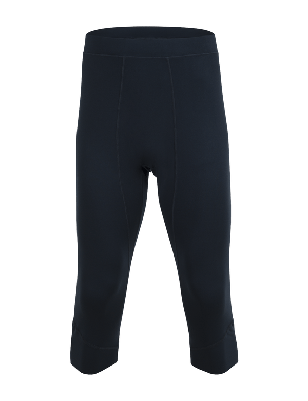 PEAKPERFORMANCE MEN'S GRAPH SHORT BASE-LAYER TIGHTS SALUTE BLUE