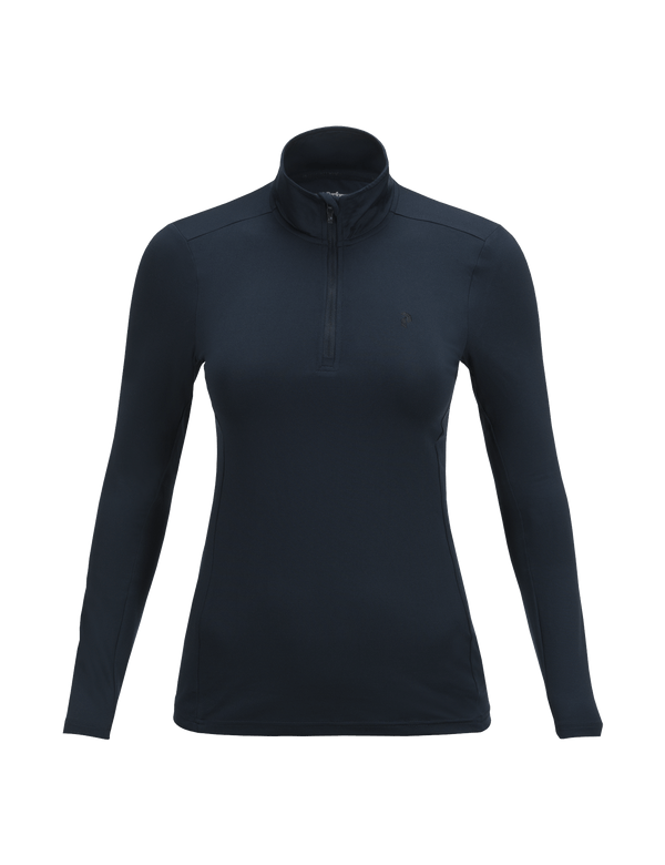 PEAKPERFORMANCE WOMEN'S GRAPH HALF ZIPPED BASE-LAYER SALUTE BLUE