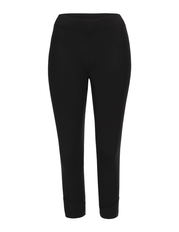 PEAKPERFORMANCE WOMEN'S GRAPH SHORT BASE-LAYER TIGHTS BLACK