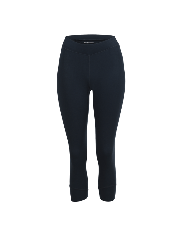 PEAKPERFORMANCE WOMEN'S GRAPH SHORT BASE-LAYER TIGHTS SALUTE BLUE