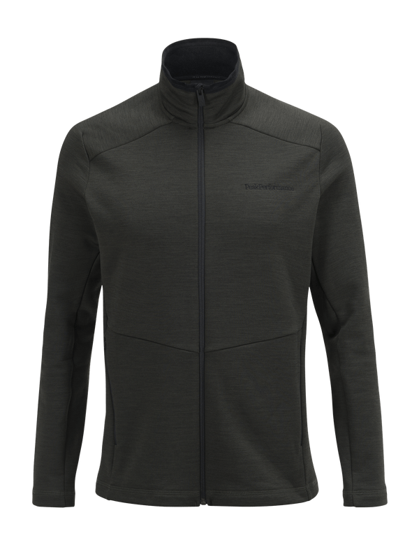 PEAKPERFORMANCE MEN'S HELO MID-LAYER OLIVE EXTREME