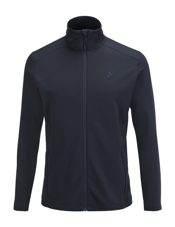 PEAKPERFORMANCE MEN'S ACE MID-LAYER SALUTE BLUE