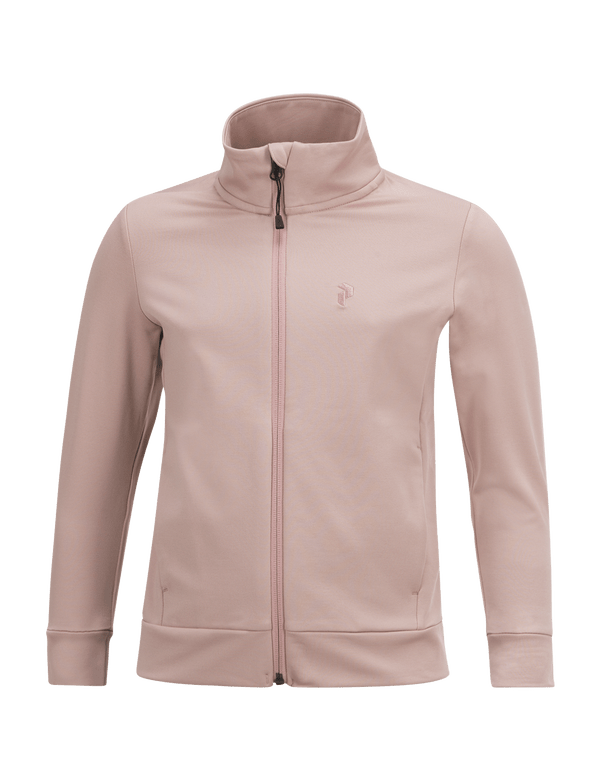 PEAKPERFORMANCE KIDS ACE ZIPPED MID-LAYER DUSTY ROSES