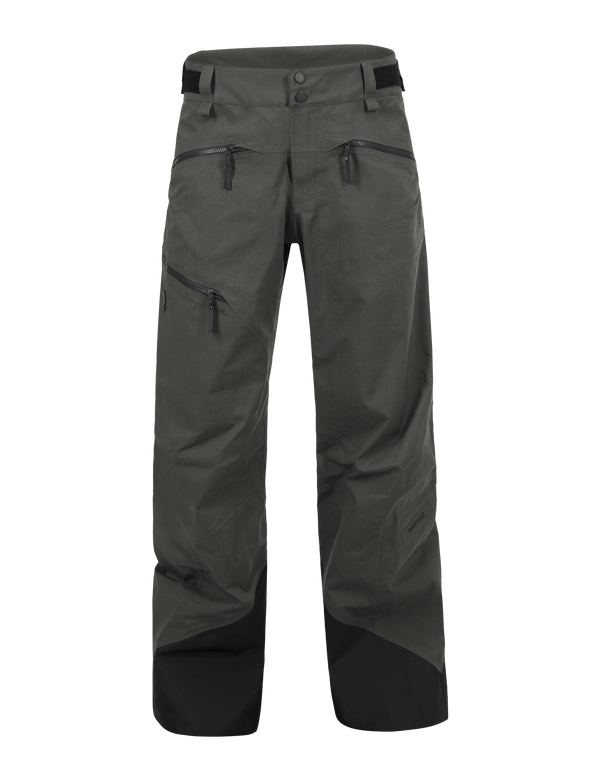 PEAKPERFORMANCE MEN'S MELANGE TETON SHELL SKI PANT BLACK OLIVE