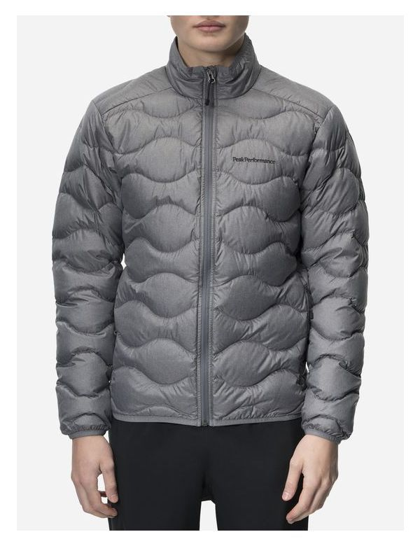 PEAKPERFORMANCE MEN'S HELIUM JACKET grey melange