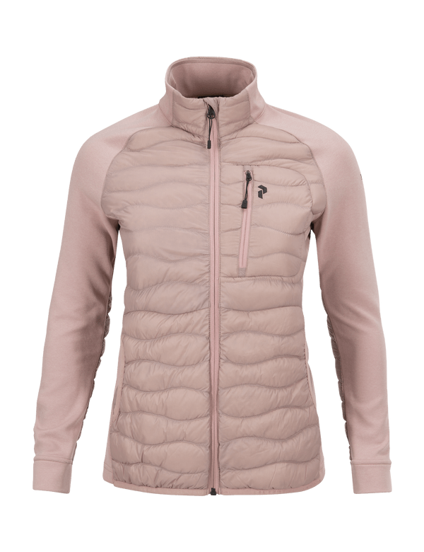 PEAKPERFORMANCE WOMEN'S HELIUM HYBRID JACKET DUSTY ROSES