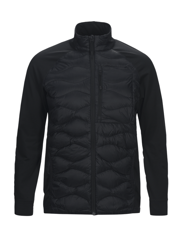 PEAKPERFORMANCE MEN'S HELIUM HYBRID JACKET black
