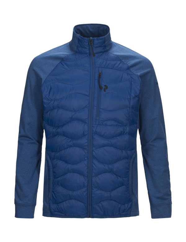 PEAKPERFORMANCE MEN'S HELIUM HYBRID JACKET true blue