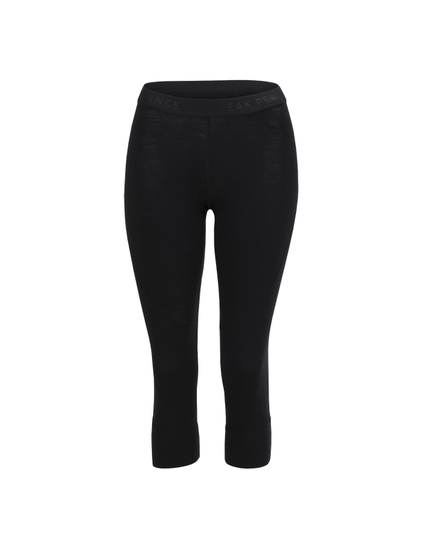 PEAKPERFORMANCE WOMEN'S MULTI BASELAYER SHORT TIGHTS BLACK