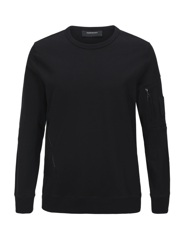 PEAKPERFORMANCE MEN'S SCRILL CREW black