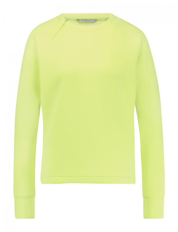 GOLDBERGH LENOX SWEATER soft neon yellow