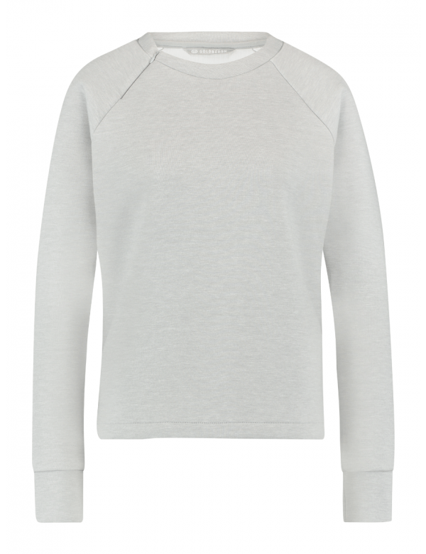 GOLDBERGH LENOX SWEATER light grey melange