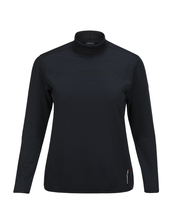 PEAKPERFORMANCE WOMEN'S GOLDECK CREW NECK SALUTE BLUE