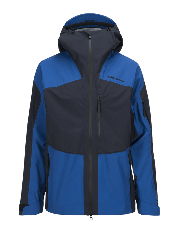PEAKPERFORMANCE MEN'S GRAVITY SKI JACKET SALUTE BLUE