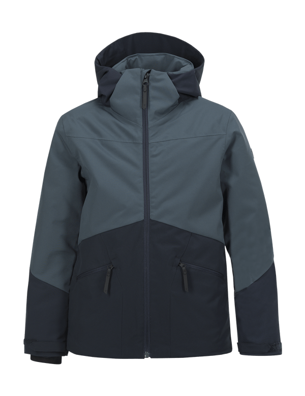 PEAKPERFORMANCE KIDS GREYHAWK SKI JACKET BLUE STEEL