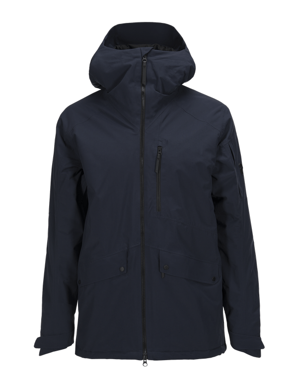PEAKPERFORMANCE MEN'S HAKUBA SKI JACKET SALUTE BLUE