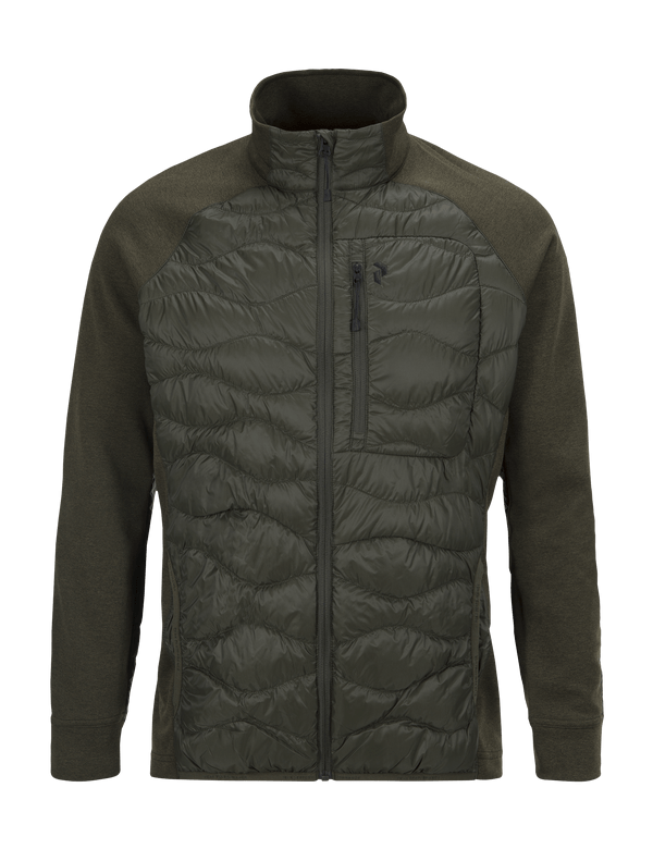 PEAKPERFORMANCE MEN'S HELIUM HYBRID JACKET FOREST NIGHT
