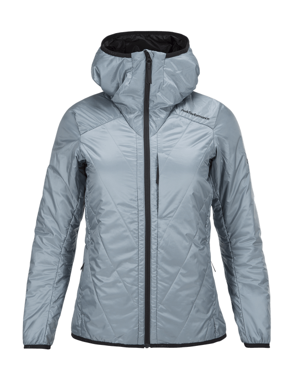 PEAKPERFORMANCE WOMAN'S HELO LINER JACKET DUSTIER BLUE