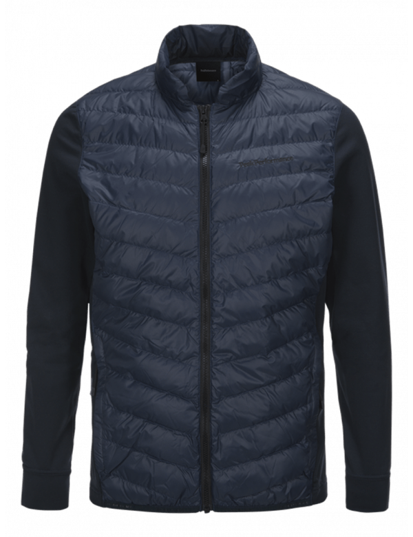 PEAKPERFORMANCE MEN'S FROST HYBRID JACKET SALUTE BLUE