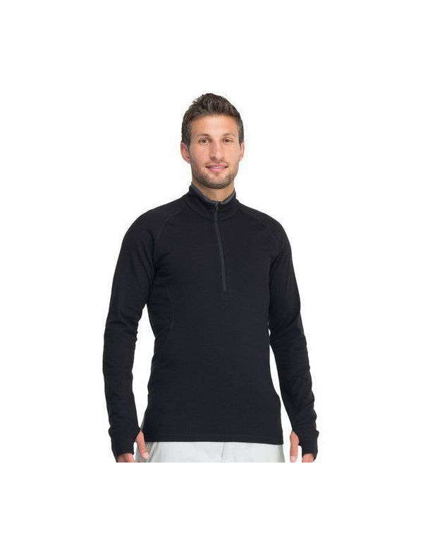 ICEBREAKER BF260 L/S PURSUIT ZIP