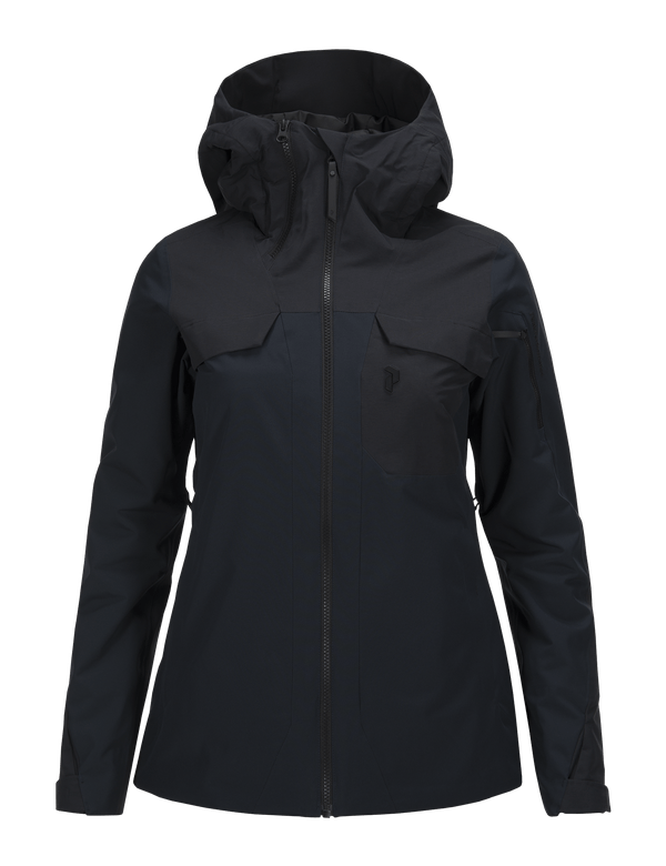 PEAKPERFORMANCE WOMEN'S IRONTON SKI JACKET SALUTE BLUE
