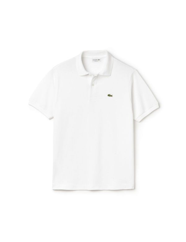 LACOSTE SHORT SLEEVE CLASSIC POLO blanc