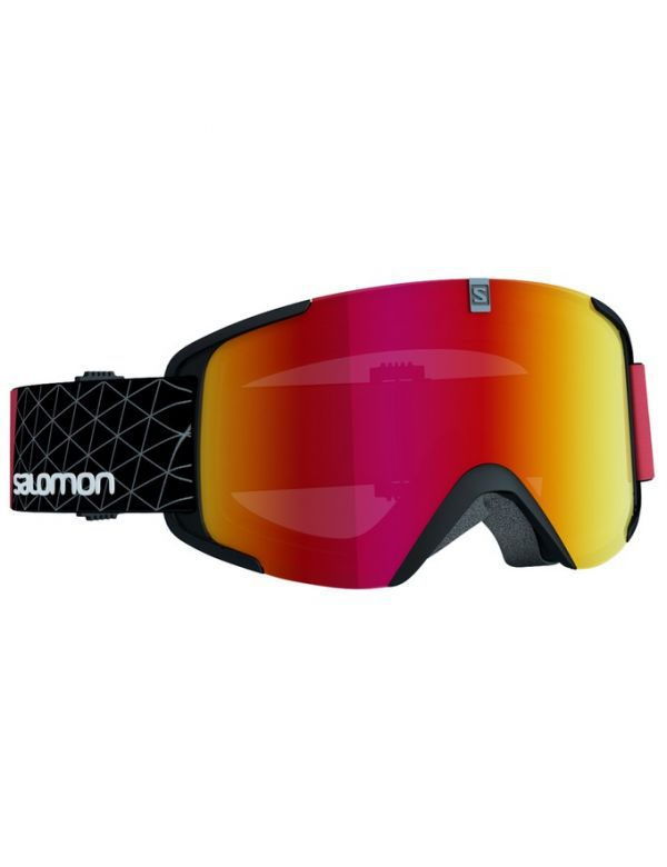 SALOMON XVIEW BLACK RED