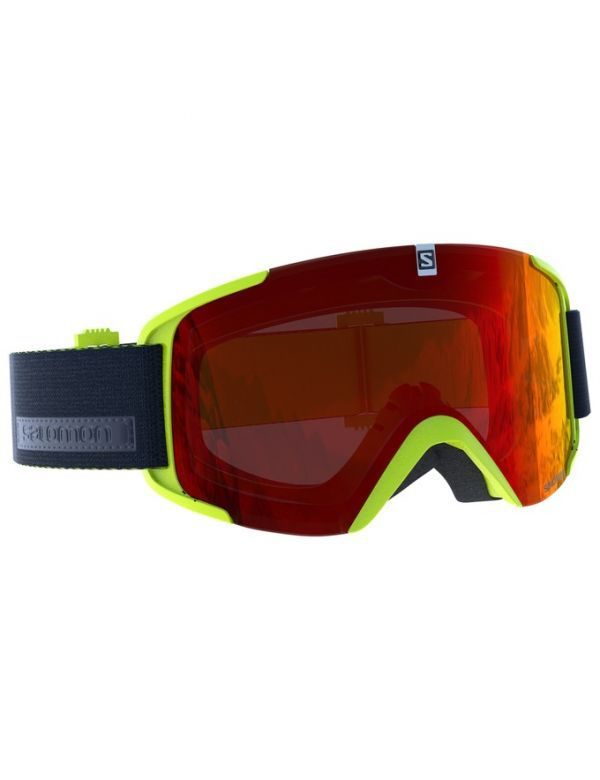 SALOMON XVIEW ACID LIME RED SOLEX