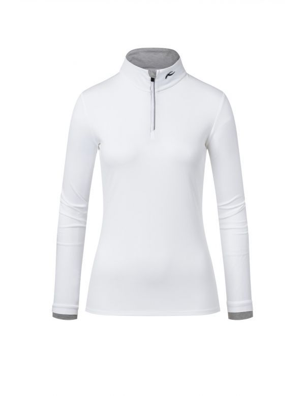 KJUS WOMEN FEEL HALFZIP white