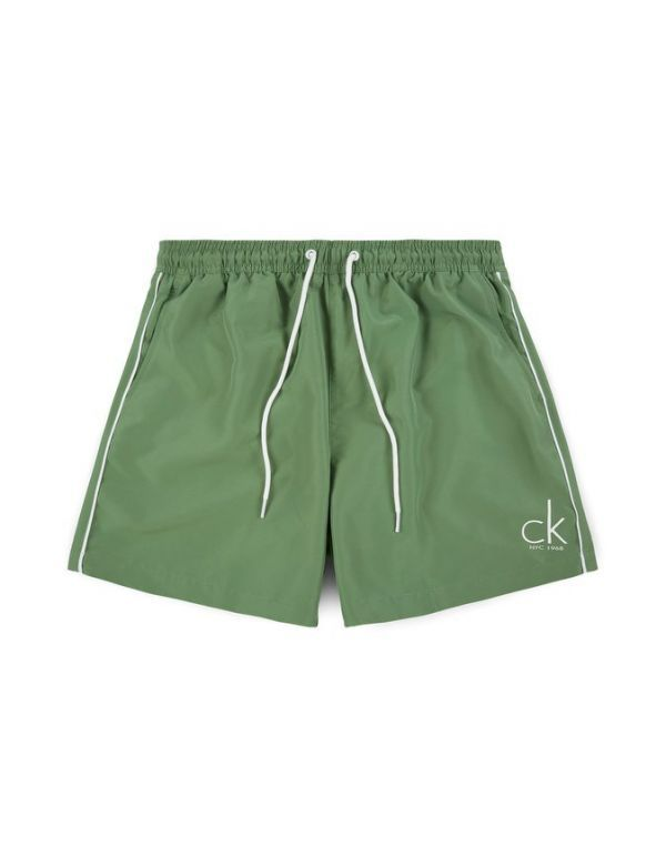 CALVIN KLEIN MEDIUM DRAWSTRING green