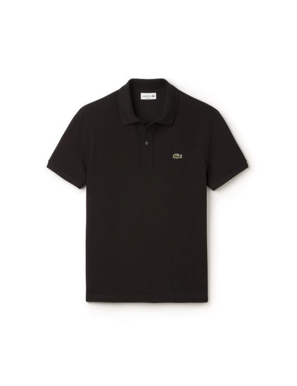 LACOSTE SHORT SLEEVE SLIM FIT POLO zwart