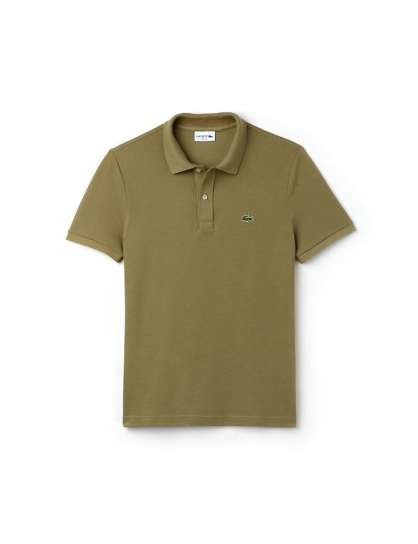 LACOSTE SHORT SLEEVE SLIM FIT POLO aloe