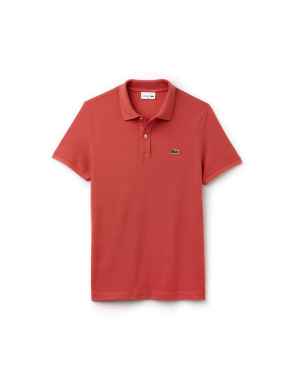 LACOSTE SHORT SLEEVE SLIM FIT POLO sierra