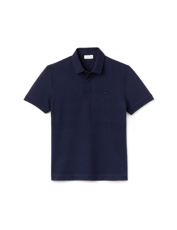 LACOSTE PARIS EDITION PIQUE POLO marine