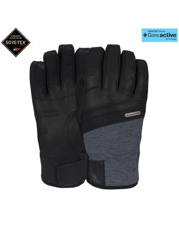 POW ROYAL GORE-TEX® Glove + Active Black