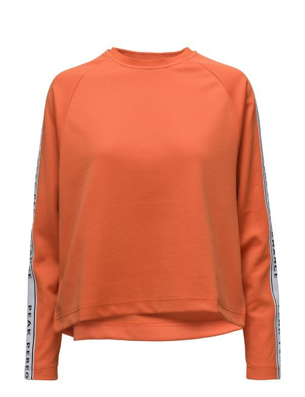 PEAKPERFORMANCE WOMEN'S TECH CLUB CREW orange