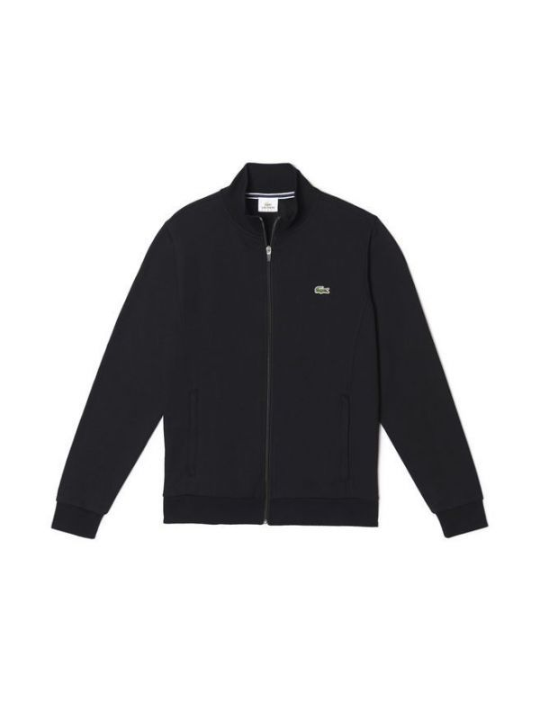 LACOSTE SPORT MOLTON SWEATER Black