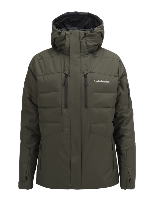 PEAKPERFORMANCE MEN'S SHIGA SKI JACKET FOREST NIGHT