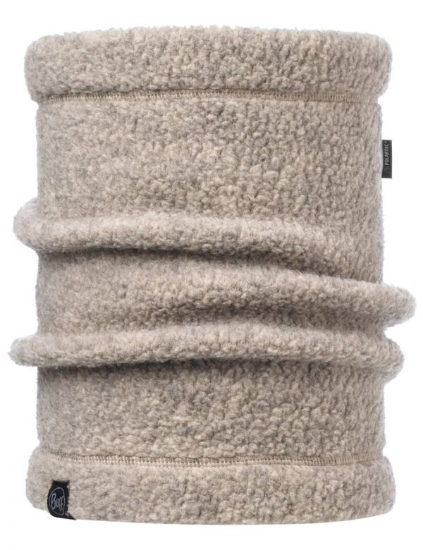BUFF POLAR THERMAL NECKWARMER SOLID BEIGE