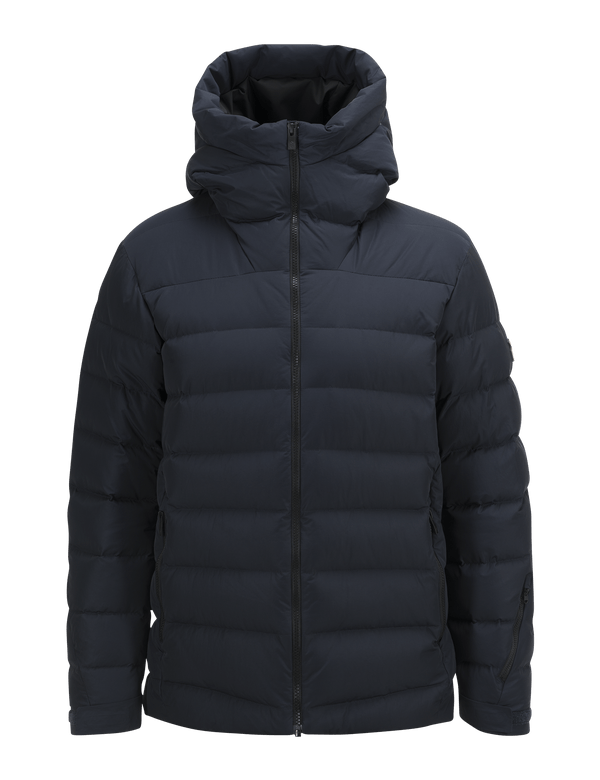 PEAKPERFORMANCE MEN'S SPOKANE DOWN SKI JACKET SALUTE BLUE