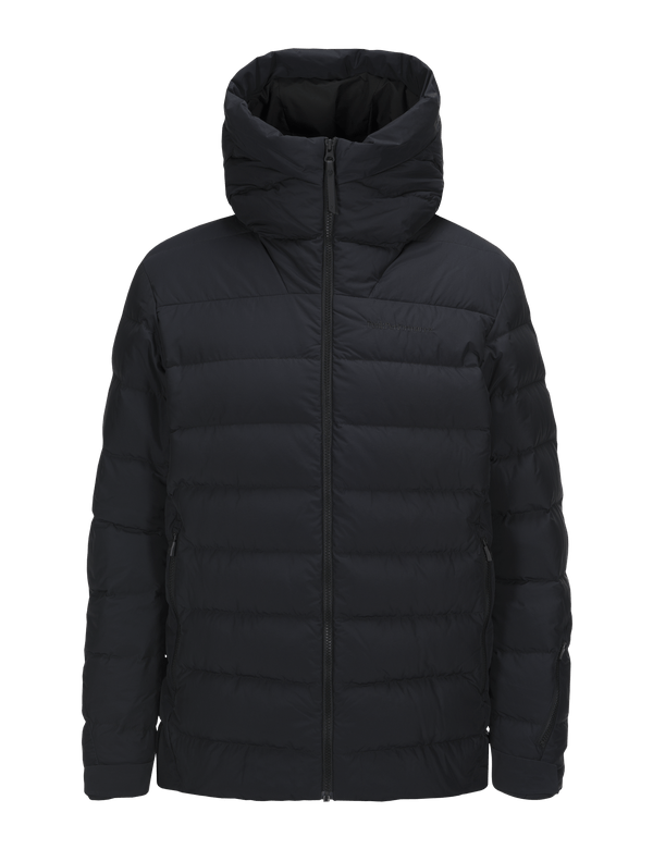 PEAKPERFORMANCE MEN'S SPOKANE DOWN SKI JACKET BLACK