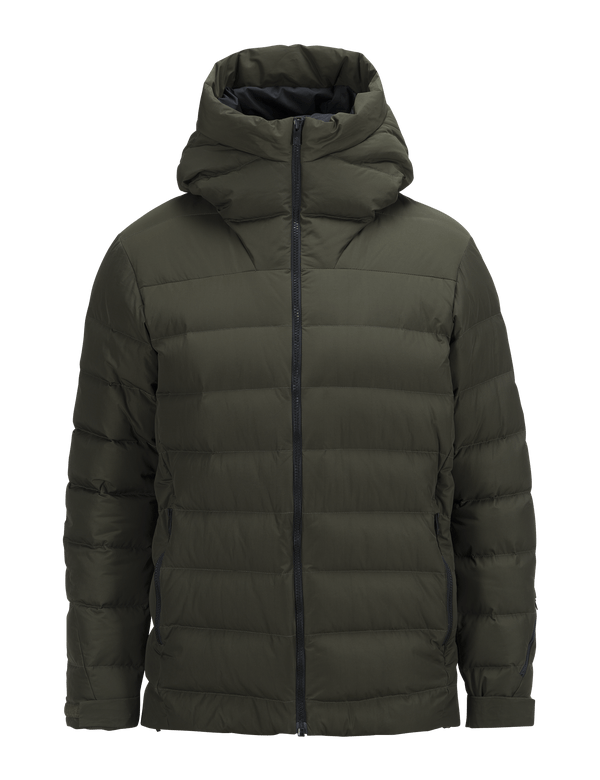 PEAKPERFORMANCE MEN'S SPOKANE DOWN SKI JACKET FOREST NIGHT