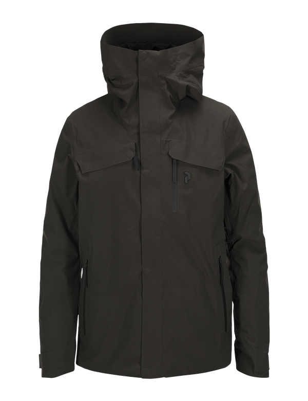 PEAKPERFORMANCE MEN'S SPOKANE SKI JACKET OLIVE EXTREME